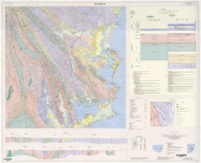 Bulahdelah 1:100 000 Geological Sheet
