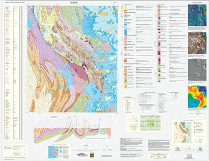 Mudgee 1:100 000 Geological Sheet