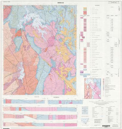 Berridale 1:100 000 Geological Sheet