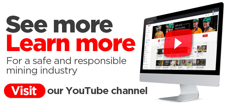 Visit our YouTube channel and subscribe to stay up-to-date