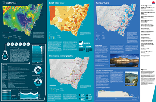 Renewable energy resources map of NSW page 2