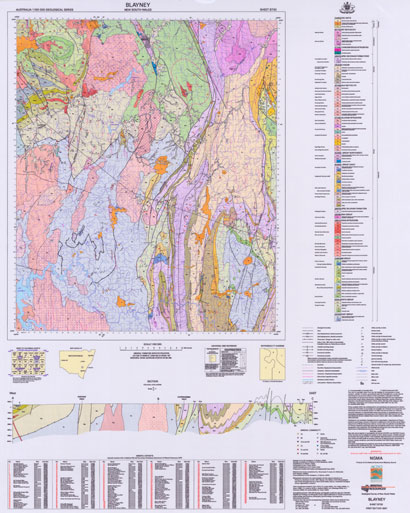 Blayney 1:100 000 Geological Sheet