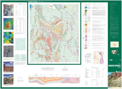 Rankins Springs 1:100 000 Geological Sheet