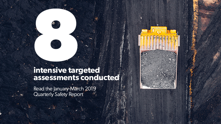 Read the January-March 2019 quarterly safety report