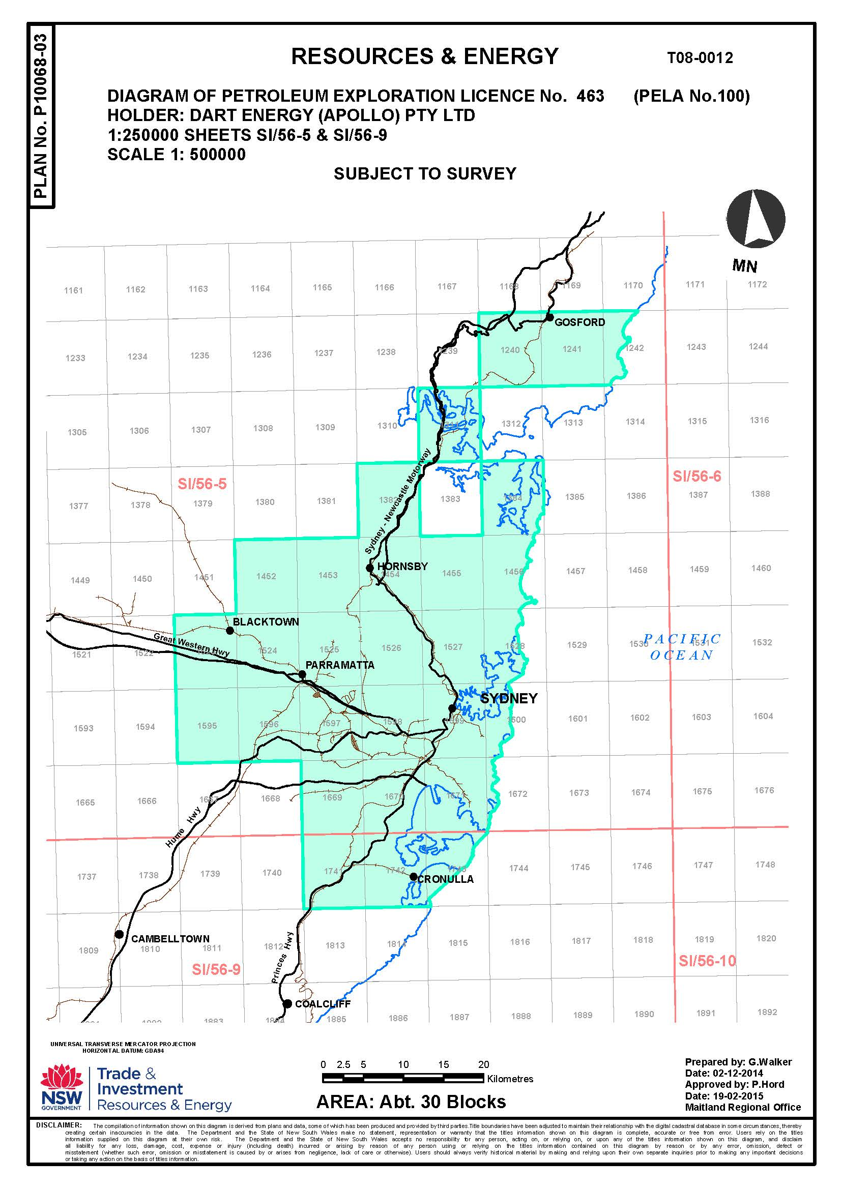 Site map - NSW Resources and Geoscience