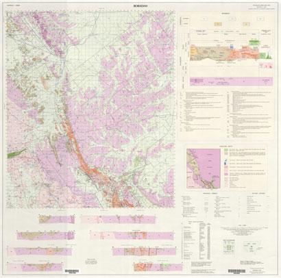 Bobadah 1:100 000 Geological Sheet