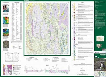 Boorowa 1:100 000 Geological Sheet