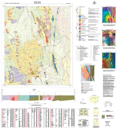 Wyalong 1:100 000 Geological Sheet