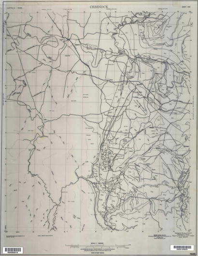 Cessnock 1:100 000 Geological Sheet