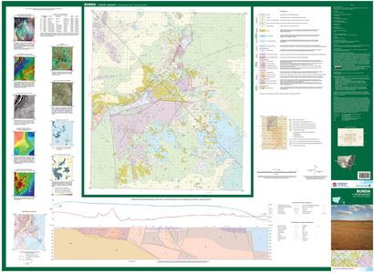 Bunda 1:100 000 Geological Sheet