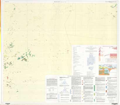 Balaclava 1:25 000 Geological Map Sheet