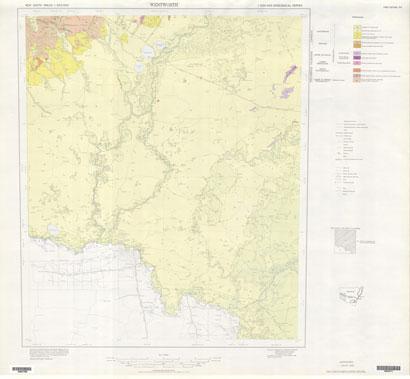 Wentworth 1:500 000 Geological Map (1st Edition)