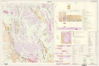 Canbelego 1:100 000 Geological Sheet
