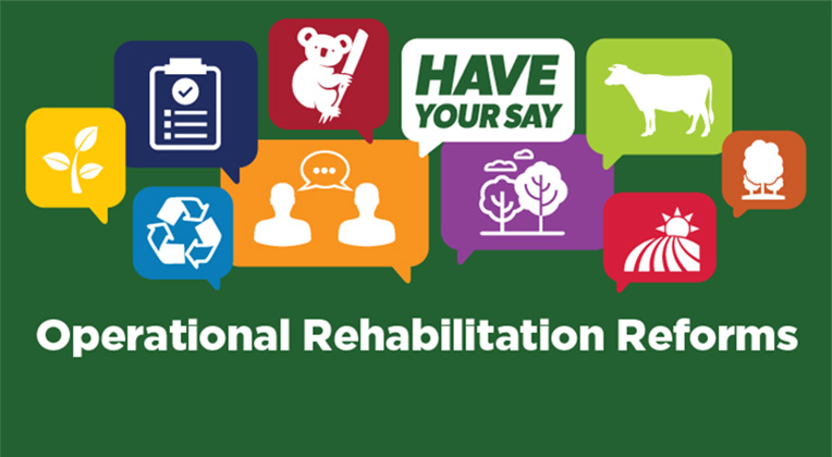 Banner for Operational Rehabilitation Reforms