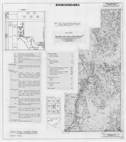 Booroondarra 1:100 000 Geological Sheet