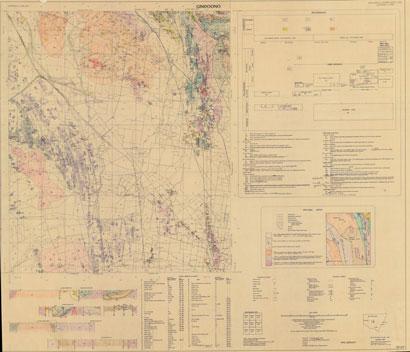 Gindoono 1:100 000 Geological Sheet