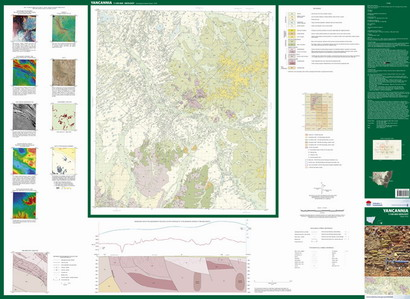 Yancannia 1:100 000 Geological Sheet