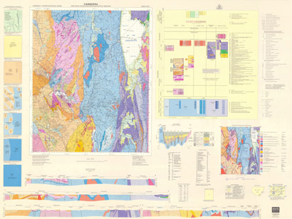 Canberra 1:100 000 Geological Sheet