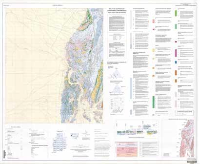 Umberumberka 1:25 000 Geological Map Sheet