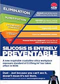 Silicosis hierarchy of controls poster