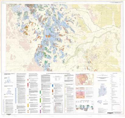 Yalcowinna-Yanco Glen East 1:25 000 Geological Map Sheet