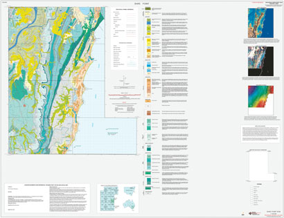 Bare Point 1:100 000 Geological Sheet