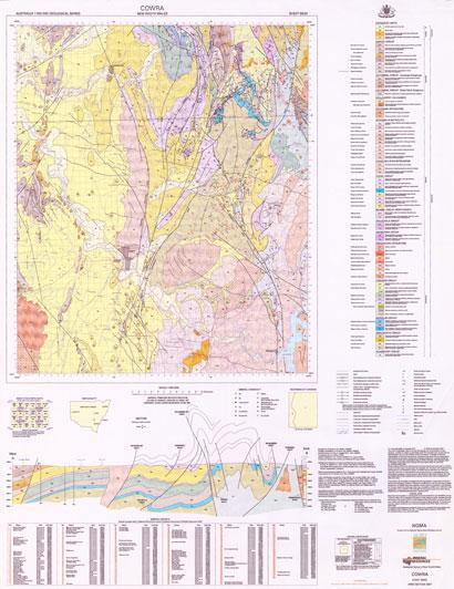 Cowra 1:100 000 Geological Sheet