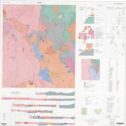 Drake 1:100 000 Geological Sheet