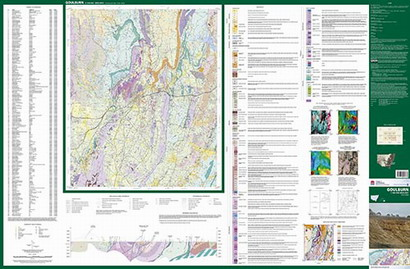 Goulburn 1:100 000 Geological Sheet