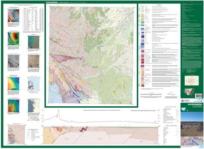 Kayrunnera 1:100 000 Geological Sheet Thumbnail