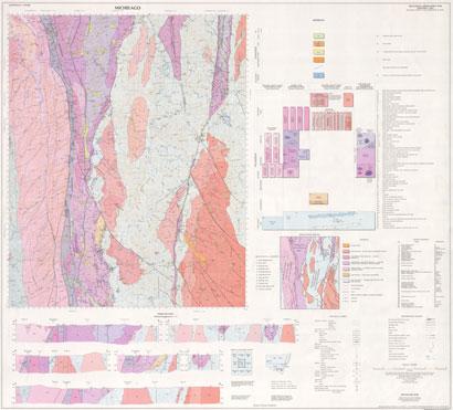Michelago 1:100 000 Geological Sheet