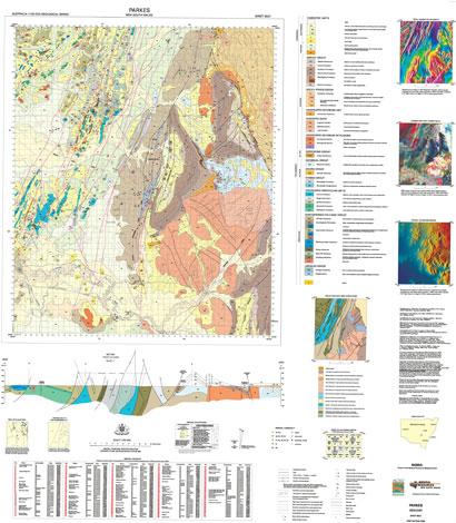 Parkes 1:100 000 Geological Sheet