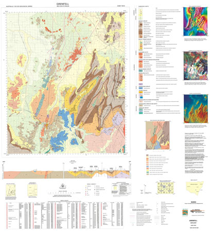 Grenfell 1:100 000 Geological Sheet