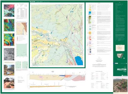 Hillston 1:100 000 Geological Sheet