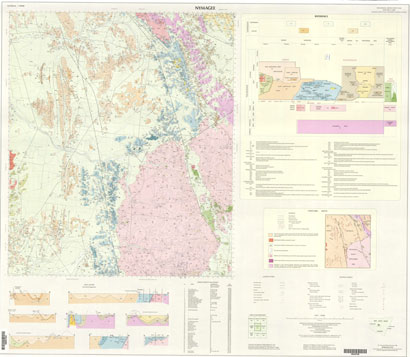 Nymagee 1:100 000 Geological Sheet
