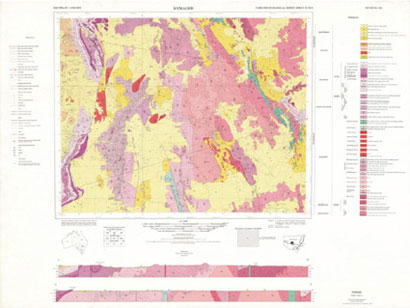 Nymagee 1:250 000 Geological Map