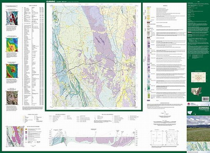 Gunning 1:100 000 Geological Sheet