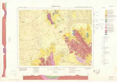 Cobham Lake 1:250 000 Geological Sheet