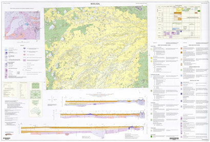 Booligal 1:250 000 Geological Map