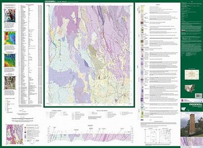 Crookwell 1:100 000 Geological Sheet