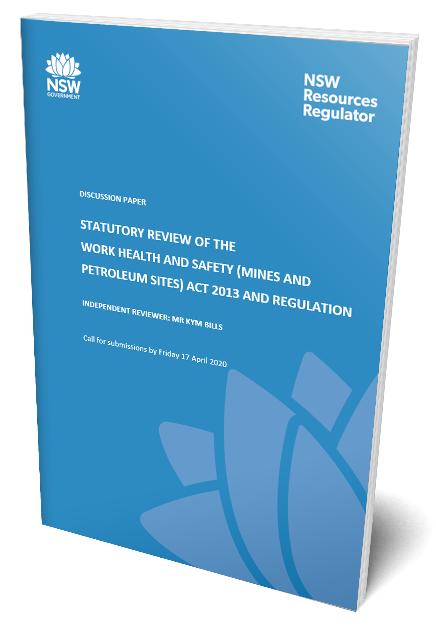 Discussion Paper: Statutory review of WHS (MPS) laws