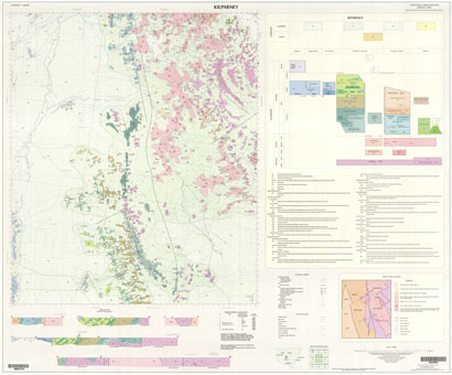 Kilparney 1:100 000 Geological Sheet