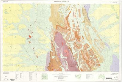 Torrowangee - Fowlers Gap 1:100 000 Geological Sheet