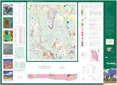 Tullibigeal 1:100 000 Geological Sheet