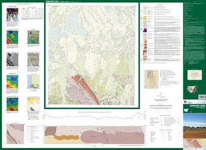 Cobham Lake 1:100 000 Geological Sheet